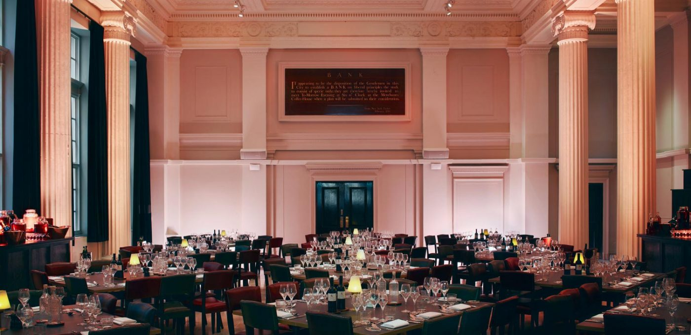 Venues in London: Grace Hall