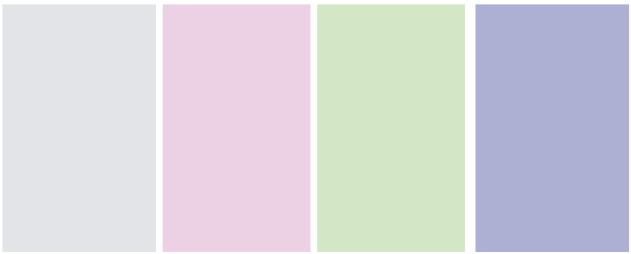 Event Design: Easter Colour Palette